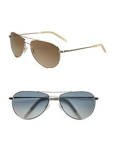 80054bb106 Luv these Oliver Peoples aviator sunglasses