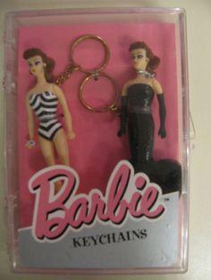 Vintage Barbie Metal keyring