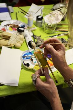 The Magpie and the Wardrobe Christmas fairy workshop at our Kings road store