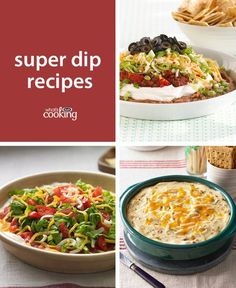Hosting some hungry football fans? We've gathered our best delicious dip #recipes for all your entertaining needs! Savour the company of your loved ones as you share these tasty appetizers.