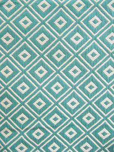SOPRANO TURQUOISE #blue-turquoise #woven-fabrics