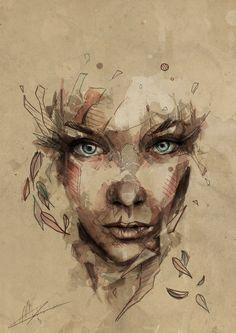 [Crystal] by Mario Alba, via Behance