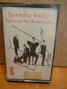 SPANDAU BALLET. THROUGH THE BARRICADES. MC / CBS - 1986. PRECINTADO A ESTRENAR.