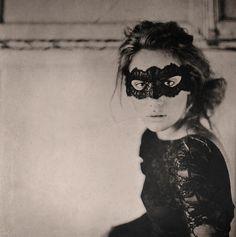 Maison Close Le Sublime Eye Mask photographed by Hannah Lemholt #maisonclose #lingerie #hannahlemholt