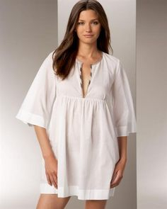 Выйкройка женская ночная рубашка
