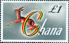 Ghana 1959 SG 225a Red Fronted Hazelle Fine Mint SG 225a Scott 97 Other British Commonwealth Stamps Here