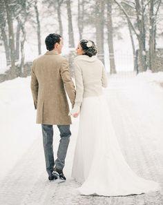 Winter wedding  - Vogue Sposa