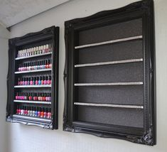 nail polish racks black baroque range with by ChicybeeDisplayUK