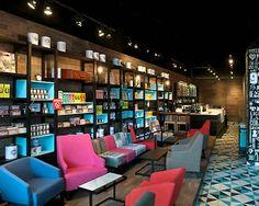 Coffee Shop Interior Design | RETRO Coffee shop interior design | Architecture, Interior Designs ...