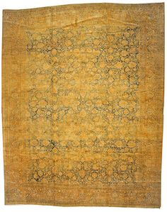 Tabriz carpet  Northwest Persia,  circa 1920  size approximately 12ft. x 16ft. 3in.