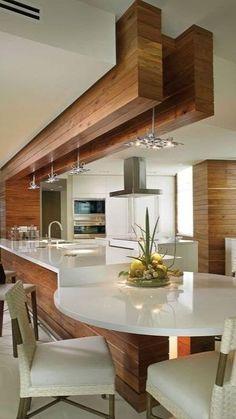 Luxury Kitchen Design, Kitchen Room Design, Kitchen Sets, Luxury Kitchens, Home Decor Kitchen, Interior Design Kitchen, Cool Kitchens, Nice Kitchen, Kitchen Designs