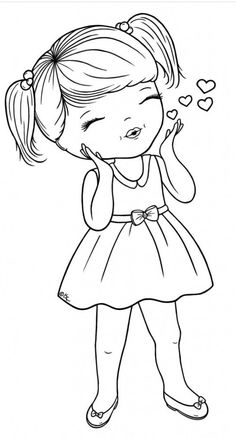 Kisses Free Digi Blowing-Kisses-BW- - lots of cute digis on this site - many free and many to purchaseBlowing-Kisses-BW- - lots of cute digis on this site - many free and many to purchase Coloring Book Pages, Printable Coloring Pages, Coloring Pages For Kids, Prima Doll Stamps, Digi Stamps, Child Draw, Embroidery Patterns, Hand Embroidery, Machine Embroidery
