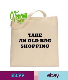 Women's Bags & Handbags Take An Old Bag Shopping Tote Bag Reusable Large Cotton Bag Supermarket Novelty #ebay #Fashion