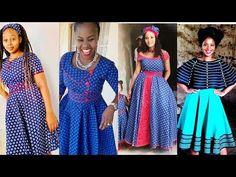 Seshoeshoe Dresses, Girls Formal Dresses, African Wear, African Dress, Seshoeshoe Designs, Sotho Traditional Dresses, Mom Fashion, Fashion Outfits