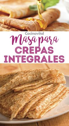 you want to prepare healthier crepes, this recipe for crepe dough . - Recetas: Dieta -If you want to prepare healthier crepes, this recipe for crepe dough . Best Crepe Recipe, Crepe Recipes, Waffle Recipes, Healthy Crepes, Savory Crepes, Frozen Sweet Potato Fries, Sweet Potato Wedges, Nutella Crepes, Crepes And Waffles