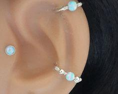 Conque de perle deau douce de piercing par HelenCollectionJewel