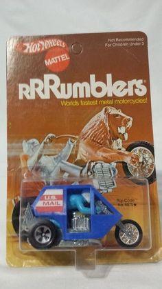New Hot Wheels Rumblers Rip Code No. 6675 NOC from Redline Era #HotWheels