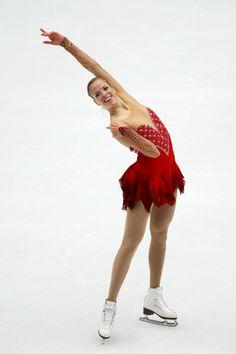 Carolina Kostner (Photo by Feng Li/Getty Images)