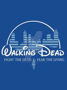 The Walking Dead (Disney) by ErinIsBatgirl