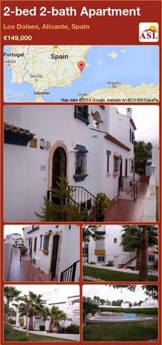 2-bed 2-bath Apartment in Los Dolses, Alicante, Spain ►€149,000 #PropertyForSaleInSpain