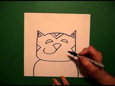 Lets Draw a Cat! - YouTube