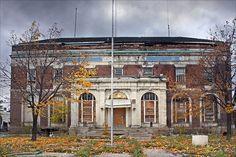 Highland Park Police Station, built 1917 (Abandonded)