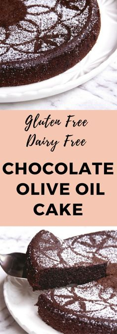This gluten free, dairy free chocolate cake makes a perfect dessert or teatime treat!