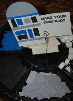 "R2D2 Craft. For ""May the 4th"""