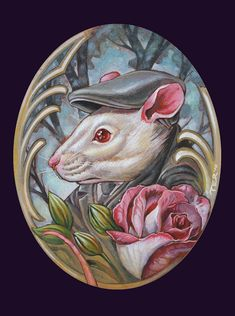 Mouse for Seth by Terry Ribera Dawn Stone, Cute Rats, Pin Up, Funny Tattoos, Tattoos Gallery, Animals Images, Creature Design, Animal Tattoos, Cute Drawings