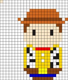 MINECRAFT PIXEL ART – One of the most convenient methods to obtain your imaginative juices flowing in Minecraft is pixel art. Pixel art makes use of various blocks in Minecraft to develop pic… Perler Bead Templates, Diy Perler Beads, Perler Bead Art, Melty Bead Patterns, Perler Patterns, Beading Patterns, Kandi Patterns, Disney Tapestry, Cross Stitch Designs