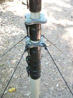 Max-Gain Systems, Inc. Fiberglass Push-Up Mast, Guy Rings