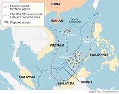 officials note that the navy is planning patrols near the contested Spratly Islands in the South China Sea in the near future. Spratly Islands, Exclusive Economic Zone, End Time Headlines, South Seas, South Island, New South, Archipelago, Image Shows
