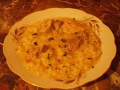 Tocanita de soia cu orez Risotto, Ethnic Recipes, Food, Meal, Essen, Hoods, Meals, Eten