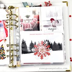 December Daily 2018 – Day 1 & 2 Christmas Mini Albums, Christmas Mix, Christmas Scrapbook, Christmas 2017, Pocket Page Scrapbooking, Scrapbooking Layouts, Scrapbook Pages, Daily Day, December Daily