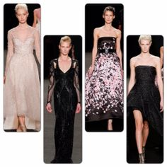 Monique Lhuillier oscar gown predictions - runway report on redsoledmomma.com