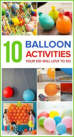 10 Fun Balloon Activities Your Kid Will Love To Do