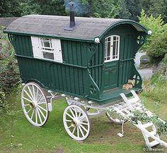 Gypsy Caravan, Gypsy caravans, Gypsy Waggons and Vardos: Features and Articles Justice Eve