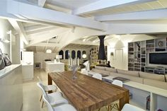 Italian Interior designer Fabio Gianoli created this amazing space in Sondrio Northern Italy- love it