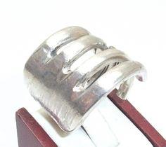 Gabelring 19,2 mm Besteckschmuck Silberring SR133 von Atelier Regina auf DaWanda.com