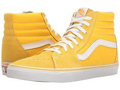 Vans - SK8-Hi™ Yellow Sneakers 7d43c097927
