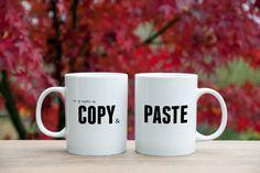Couples Coffee Mugs, Couple Mugs, We Go Together Like, Mug Printing, Mugs Set, Mug Designs, Art Market, Valentine Day Gifts, Panda