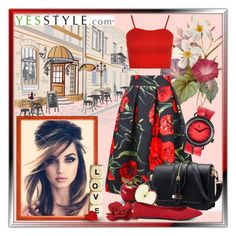 """""""Yesstyle"""" by tanja133 ❤ liked on Polyvore featuring Flore, BeiBaoBao, Breckelle's, WearAll, t. watch, Summer, weekend, getaway and yesstyle"""