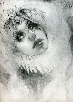 Michael Hussar. Drawing of Trisha Lurie