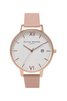 **Olivia Burton Timeless Dusty Pink & Rose Gold Watch
