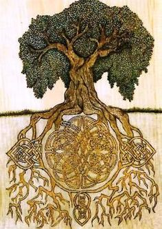 Viking Life... The tree of life from Norse mythology. Art for our house maybe?