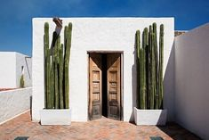 Uber-Minimalist Home in Mexico Actually Has a History Towering Mexican Fence Post cacti frame a doorway.List of Bollywood films of 2019 This is a list of Bollywood films that are scheduled to release in The highest-grossing Bolly Spanish House, Spanish Style, Spanish Bungalow, Spanish Revival, Spanish Colonial, Minimalist Architecture, Interior Architecture, Style Hacienda, Mexican Hacienda