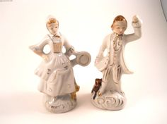Figurine Couple Dancing and playing a musical by MissPattisAttic, $7.00