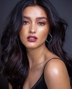 Ufff shes so gorgeous Pretty Makeup Looks, Pretty Face, Beauty Makeup, Hair Makeup, Hair Beauty, Lisa Soberano, Filipina Girls, Different Makeup Looks, Filipina Beauty