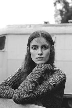 """Kremi Otashliyska in """"Blame It On The Casanova"""" by Benjamin Vnuk for Russh Magazine, December 2014"""