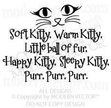 Soft kitty lyrics